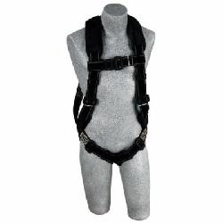 3M DBI-SALA Fall Protection 840779-00976 ExoFit™ XP Arc Flash Harness, XL, 310/420 lb Load, Kevlar®/Nomex® Strap, Pass-Thru Leg Strap Buckle, Pass-Thru Chest Strap Buckle, Steel Hardware, Black